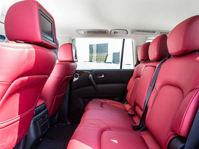 Nissan Patrol VVIP Limited Interior