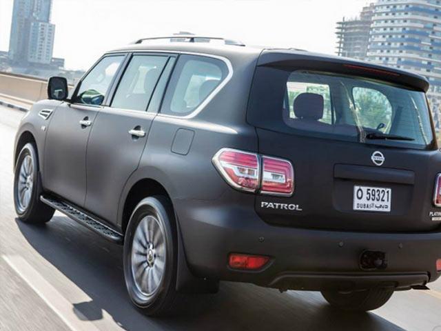 Nissan Patrol VVIP Limited RearNissan Patrol VVIP Limited Rear