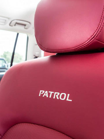 Nissan Patrol VVIP Limited Seat