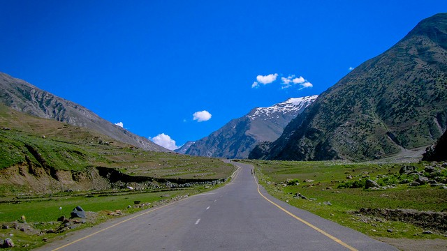 Babusar road