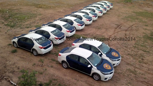 Motorway police to get all new Toyota Corolla 2015