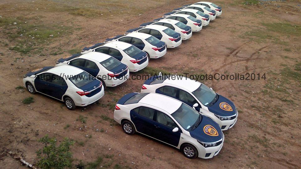 Motorway Police Pakistan Corolla Altis  (1)