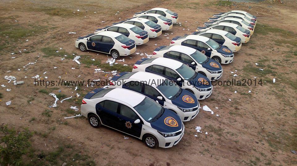 Motorway Police Pakistan Corolla Altis  (2)