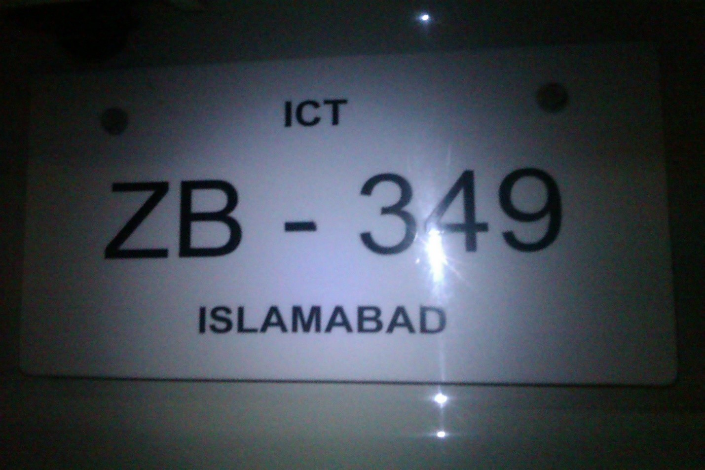 Number Plate Format 2