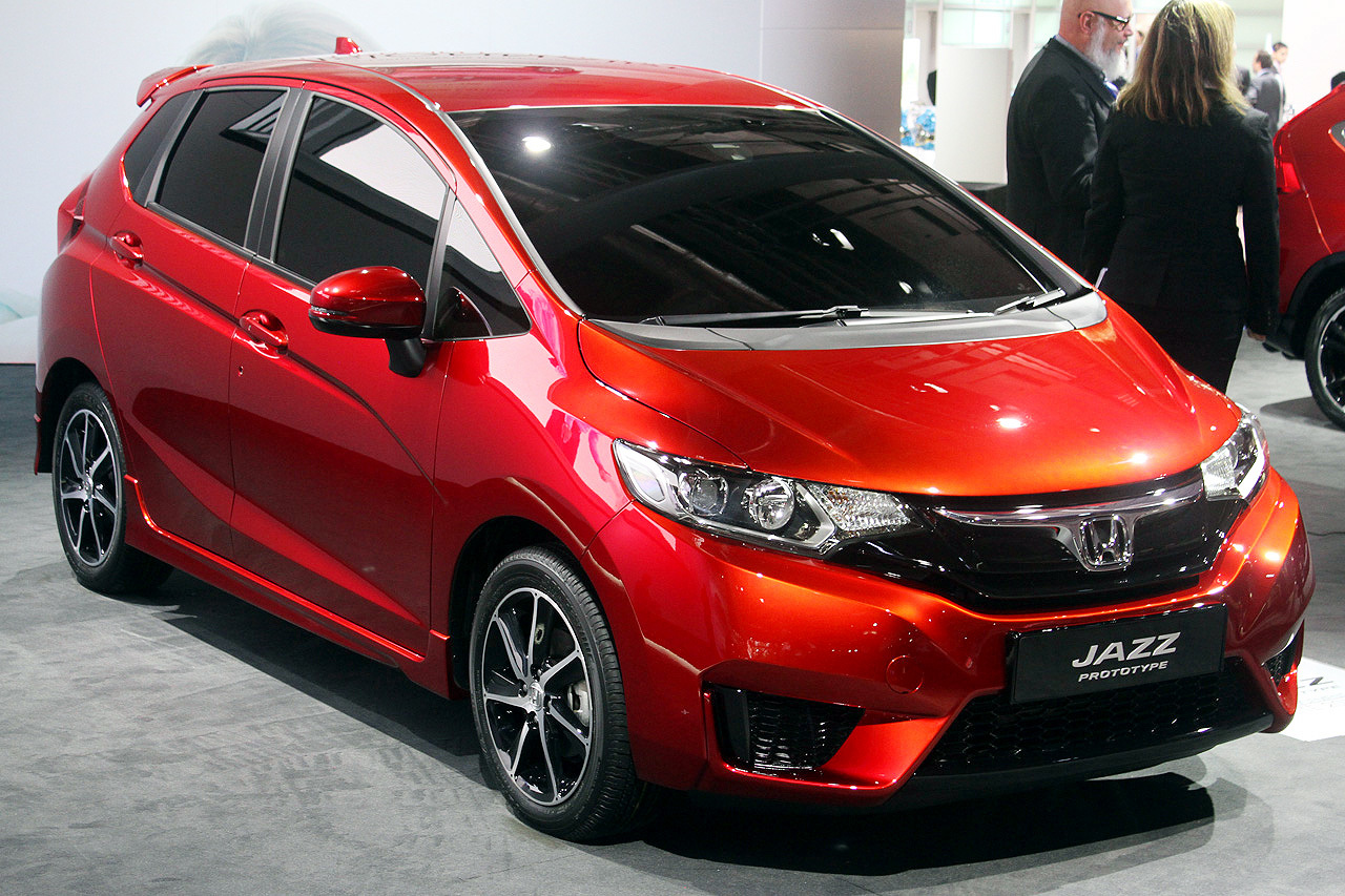 Honda Shows Off New Production Prototype Of Jazz