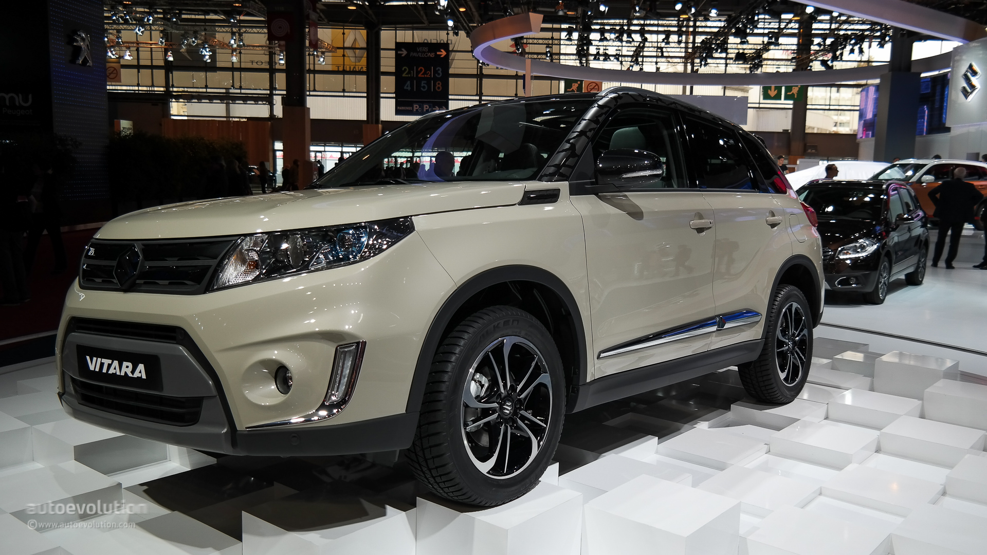 new suzuki vitara unveiled at paris auto show   pakwheels blog