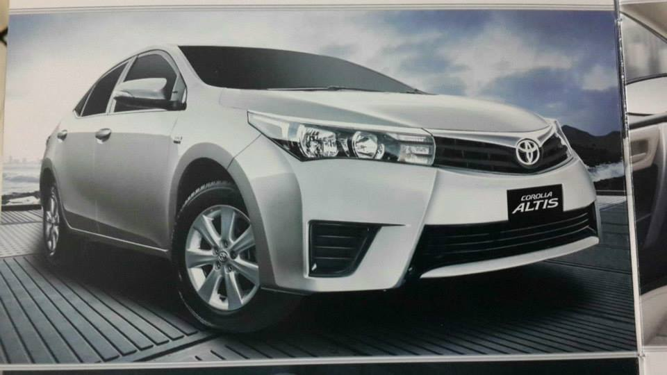 Toyota Corolla Altis 1 6 Confirmed Price Availability And