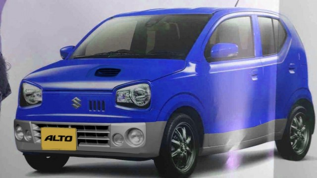 New-Suzuki-Alto-JDM-front-three-quarters