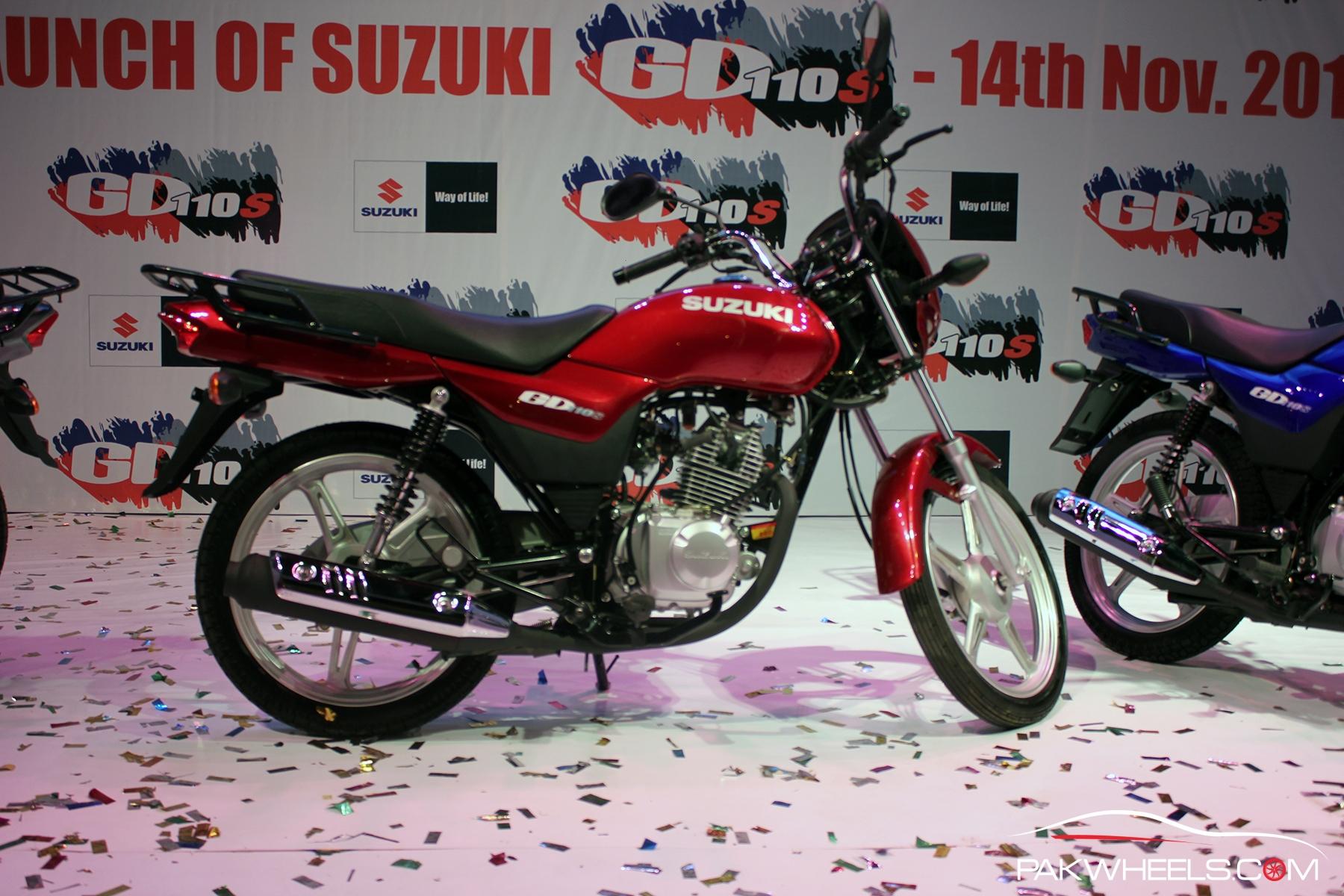 Honda Parts Cheap >> Pak Suzuki launches the upgraded Suzuki GD110S - PakWheels Blog
