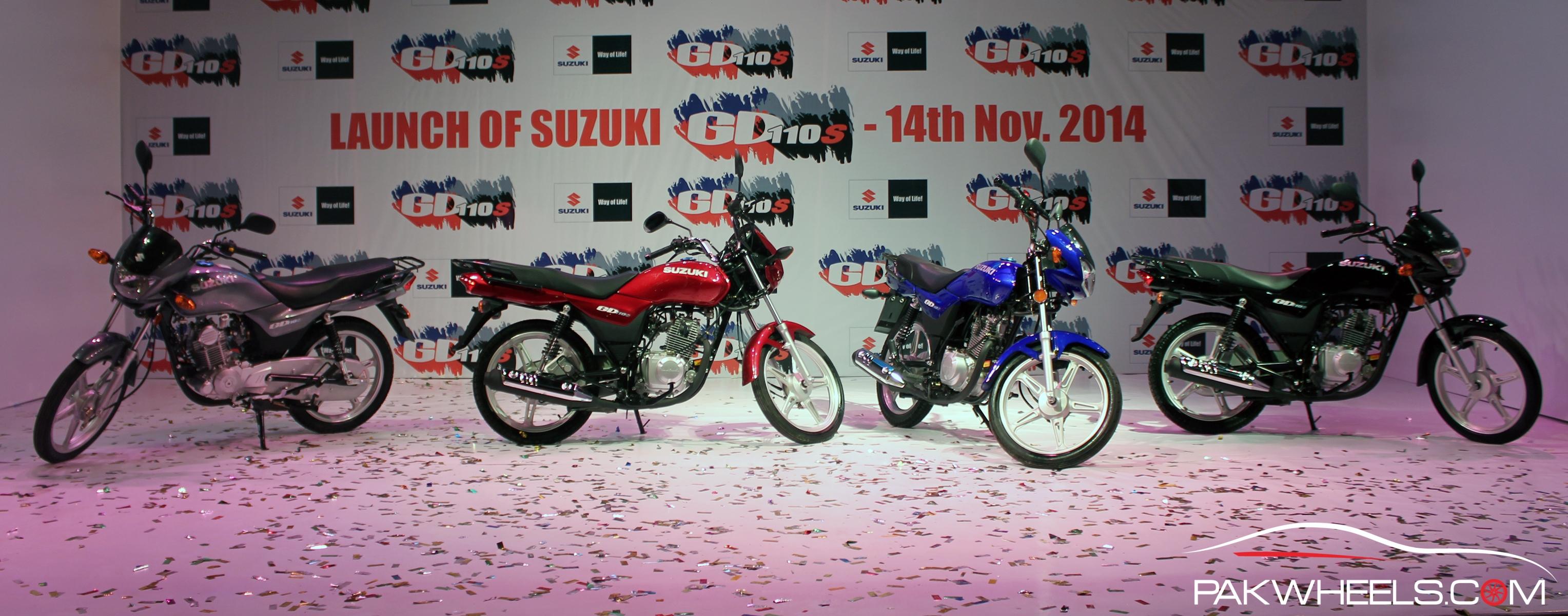 Suzuki GD110S Pakistan  (9)