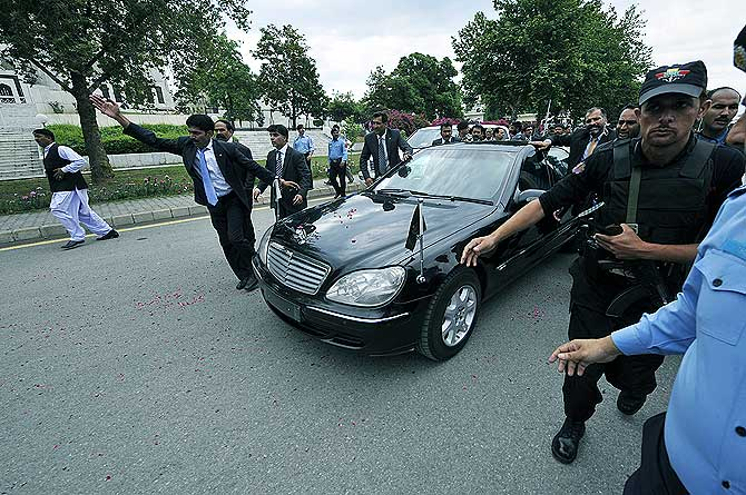 prime minister car