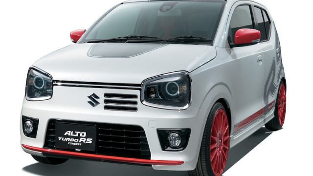 2015-Suzuki-Alto-JDM-Turbo-RS-Concept-front-three-quarters