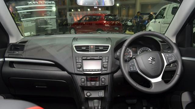 2015-Suzuki-Swift-RX-dashboard-at-the-2014-Thailand-International-Motor-Expo