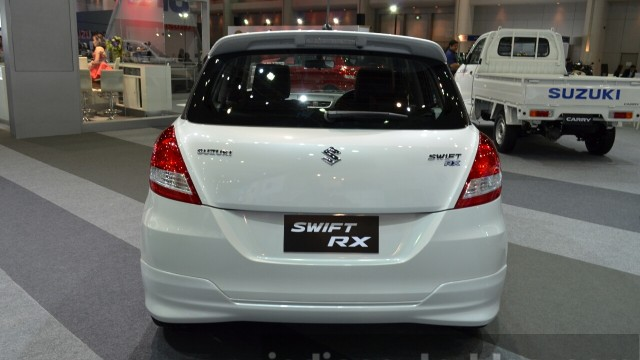 2015-Suzuki-Swift-RX-rear-at-the-2014-Thailand-International-Motor-Expo