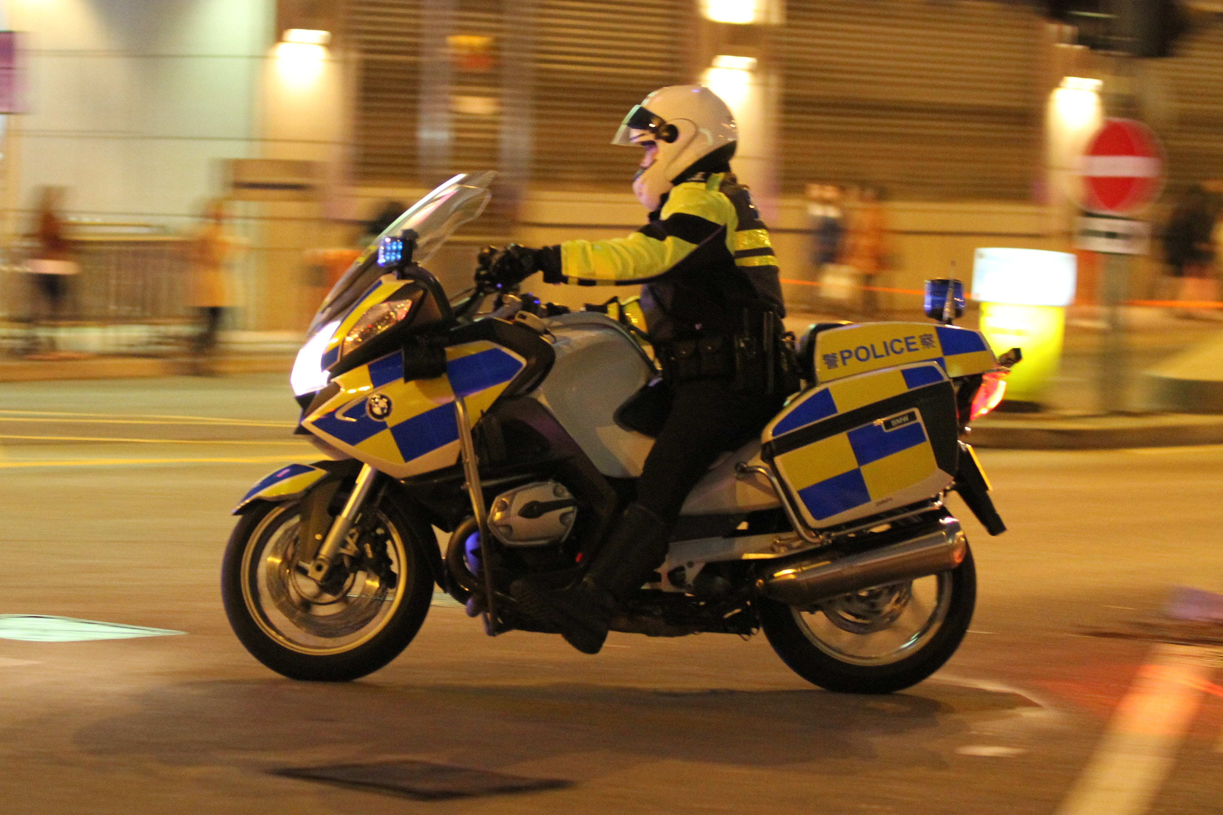 A BMW 1200cc Police Cruiser