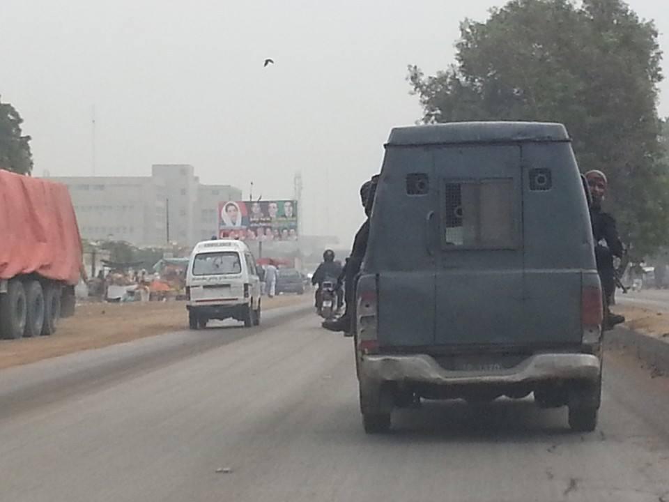 Daewoo Bus Police Mobile