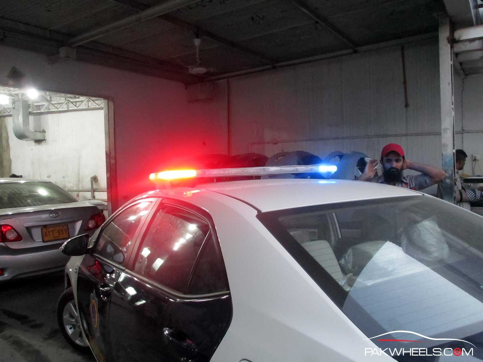 Motorway Police Light  (3)