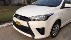 Toyota Vitz 2015 Pakistan (1)