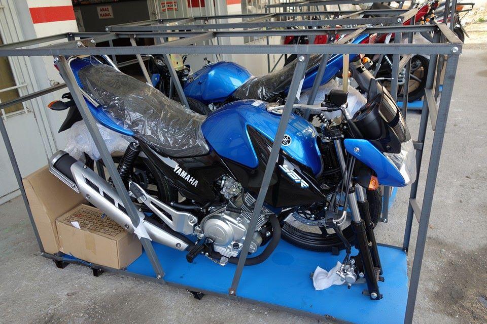 Yamaha YBR 125 in CBU Form