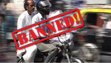 pillion riding ban faisalabad