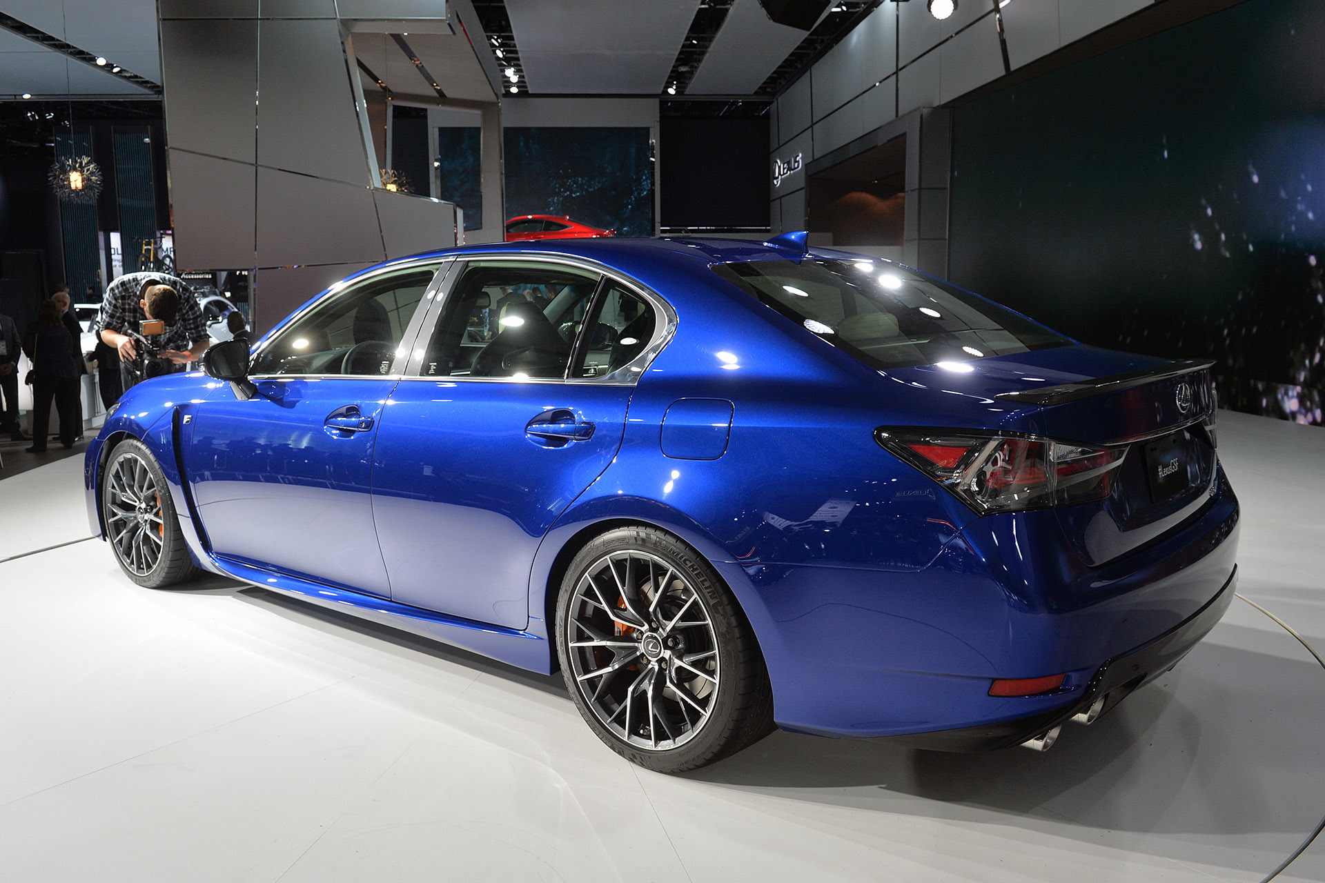 2016 Lexus GS-F Has Less HP Than BMW M5, E63 AMG And CTS-V