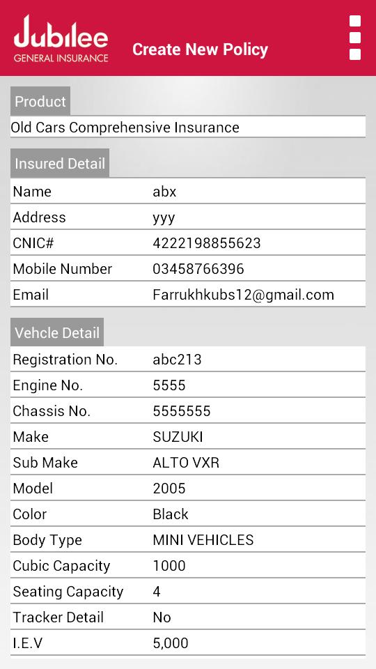 Jubilee Insurance App 5