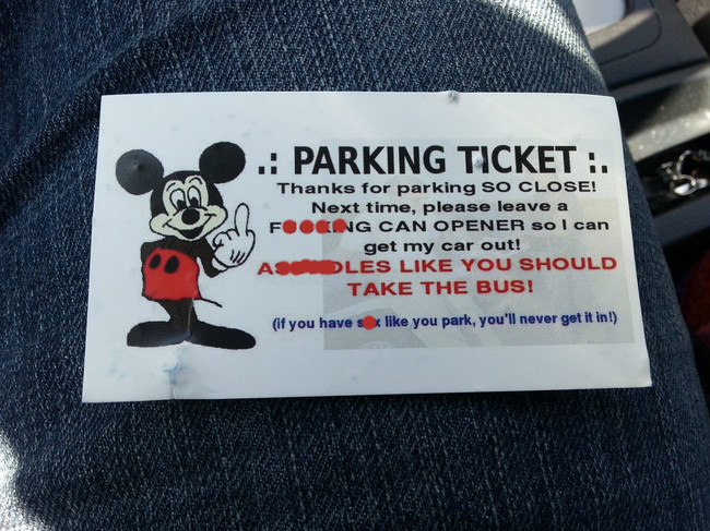 Funny Parking Notes  (3)