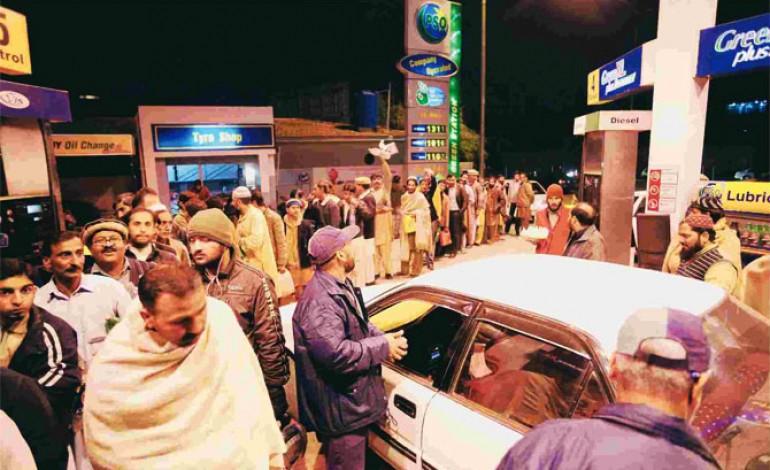 Petrol-crisis-in-pakistan
