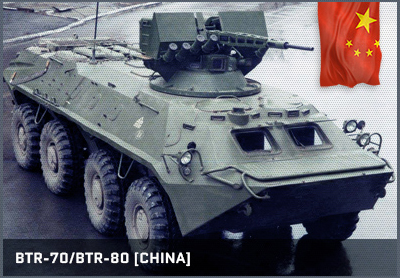 BTR-70/BTR-80 (China/Russia)
