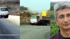 Man Stops Truck