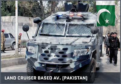 Land Cruiser Based AV (Pakistan)