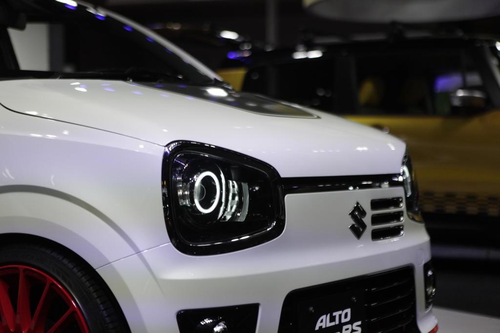 Suzuki Alto Turbo Rs Revealed At Tokyo Auto Salon