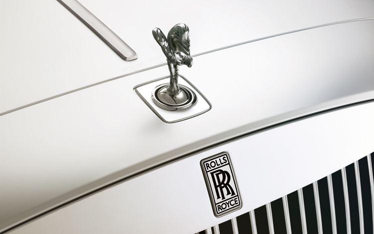 Original Rolls Royce Hood Ornament Original Rolls Royce Hood
