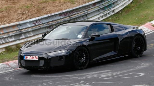 Audi R8 2016 spyshots