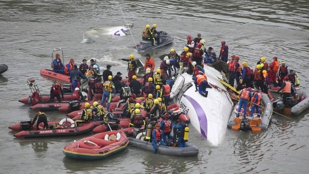Taiwan Plane Crash 2