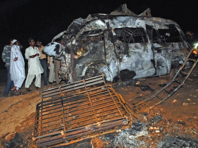Sindh Highway Crash