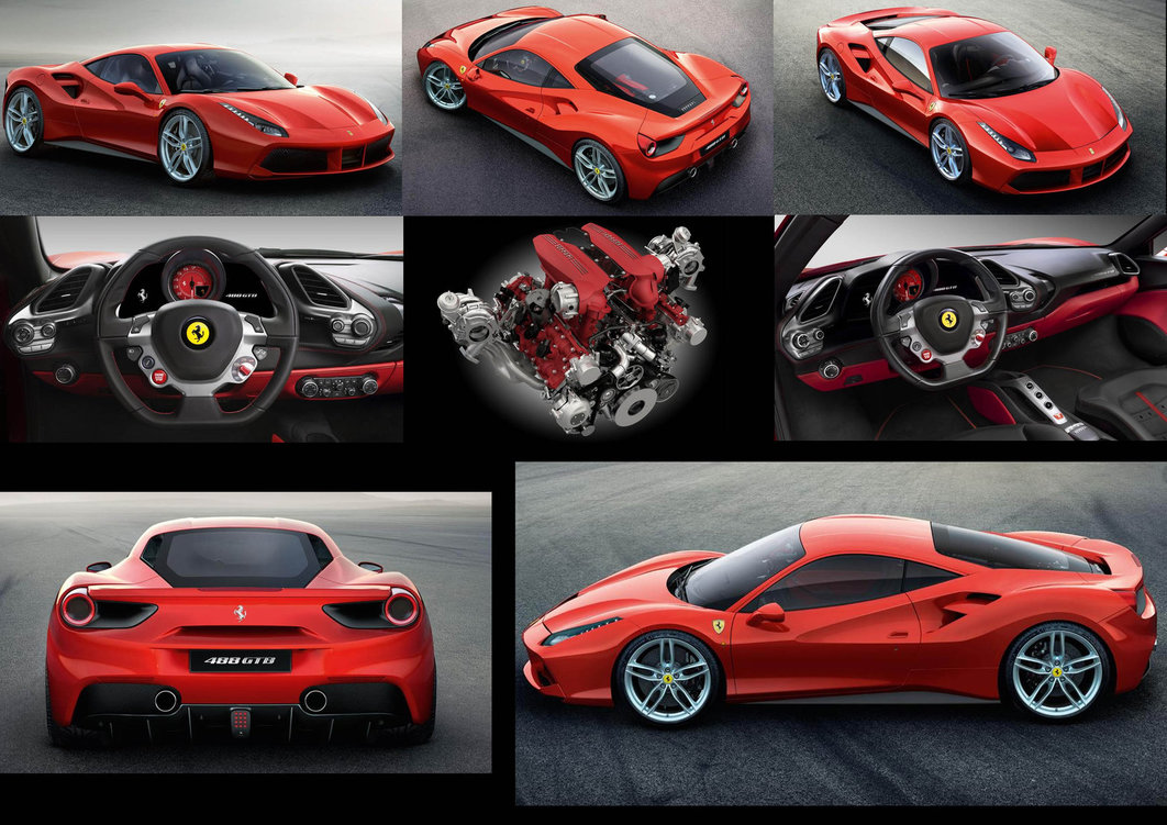 12 cars you need to follow at the 2015 geneva for Interieur 488 gtb