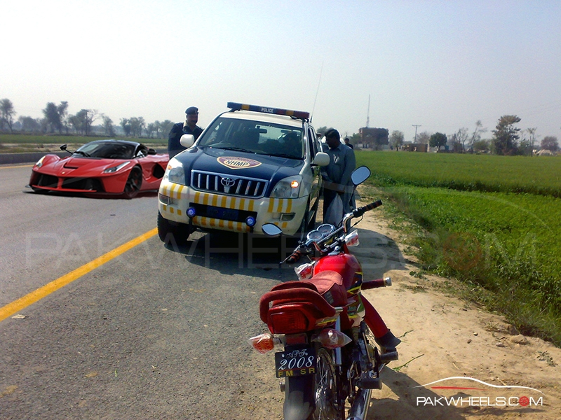 LaFerrari in Pakistan