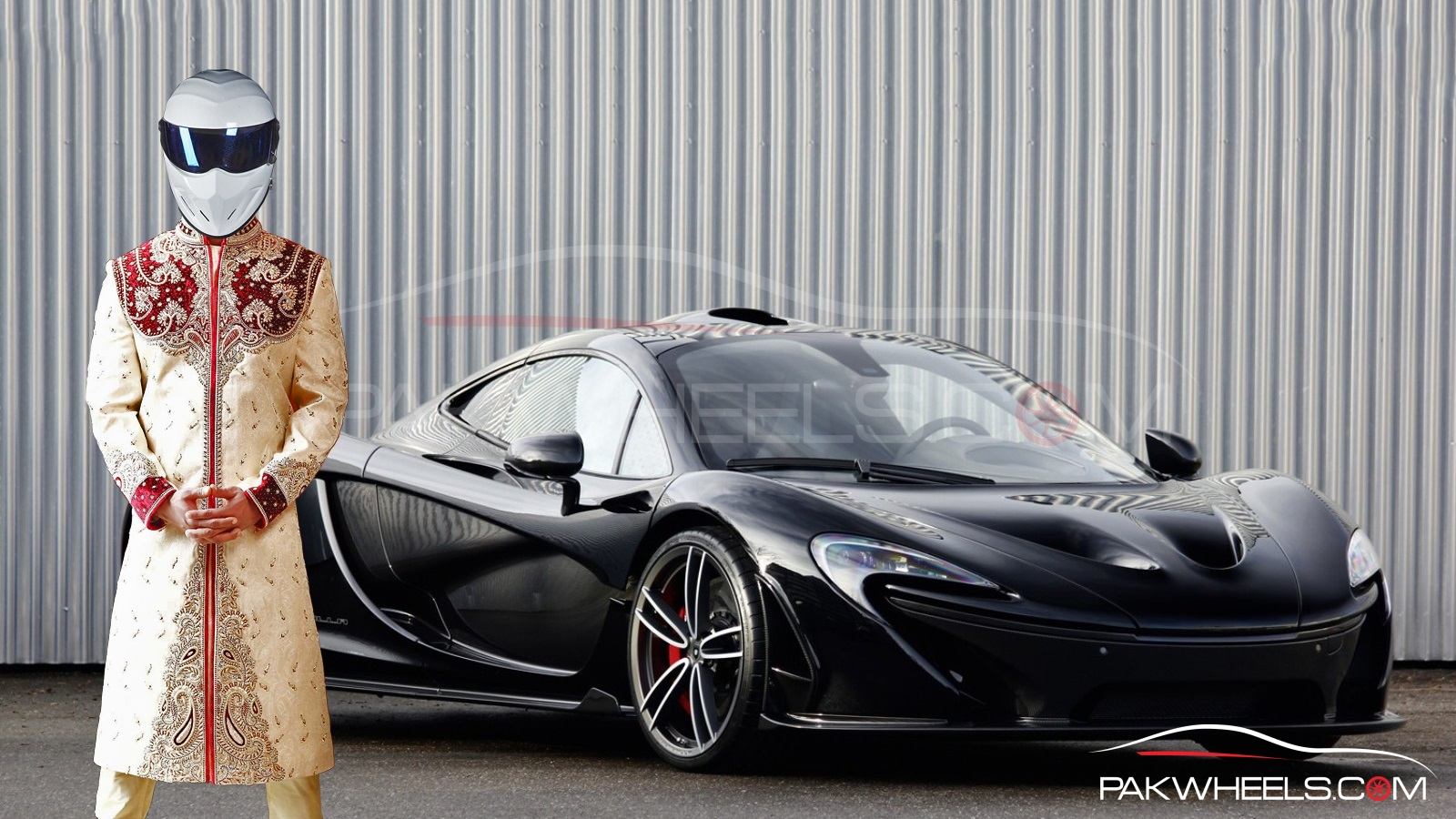 McLaren P1 in Pakistan 4