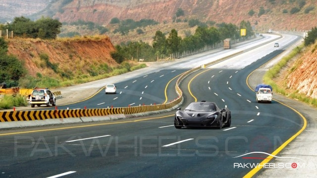 McLaren P1 in Pakistan 6