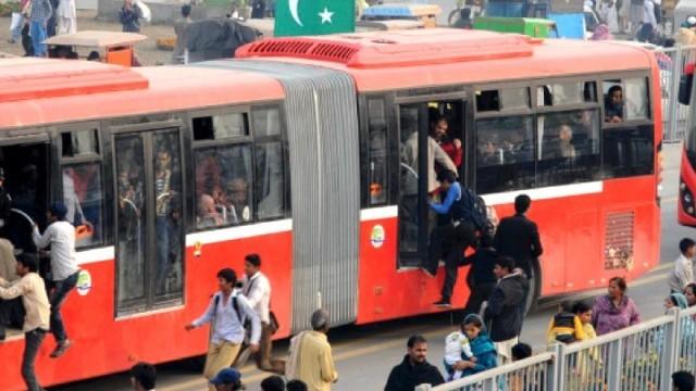 Metro Bus Karachi