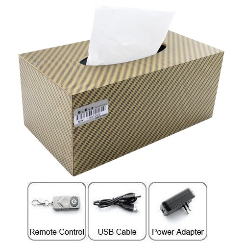 Rechargeable Pinhole Tissue Box