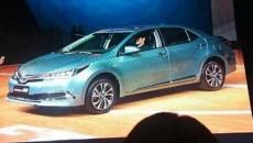 Corolla Hybrid Leaked