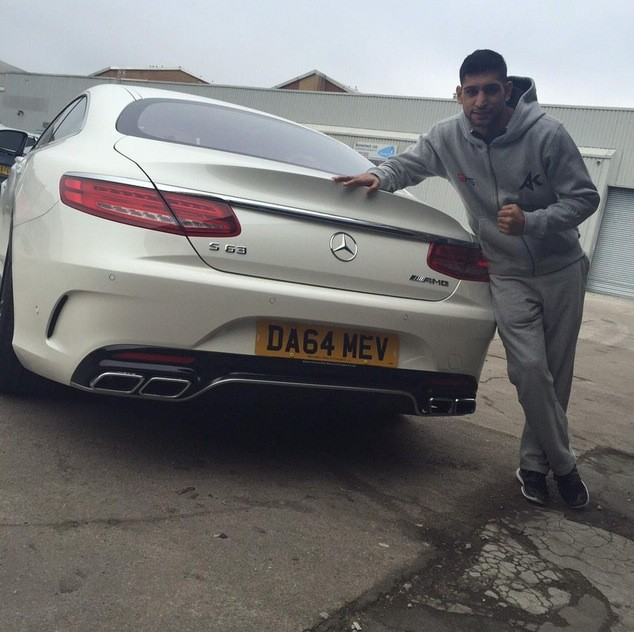 Car Collection Of Boxer Aamir Khan Now Has An S63 Amg Too