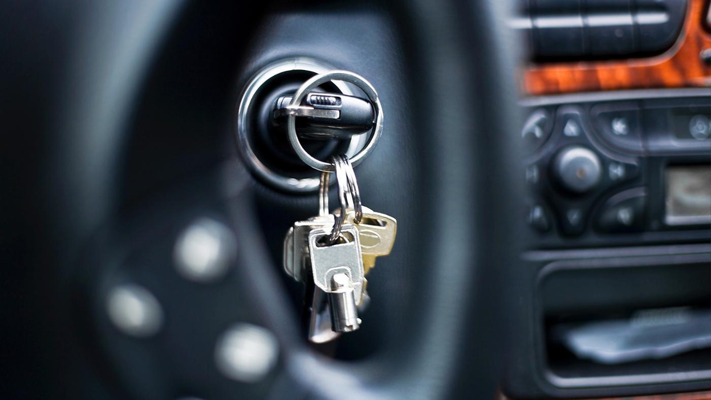 Stuck key