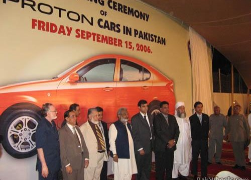 Proton Launch in Pakistan