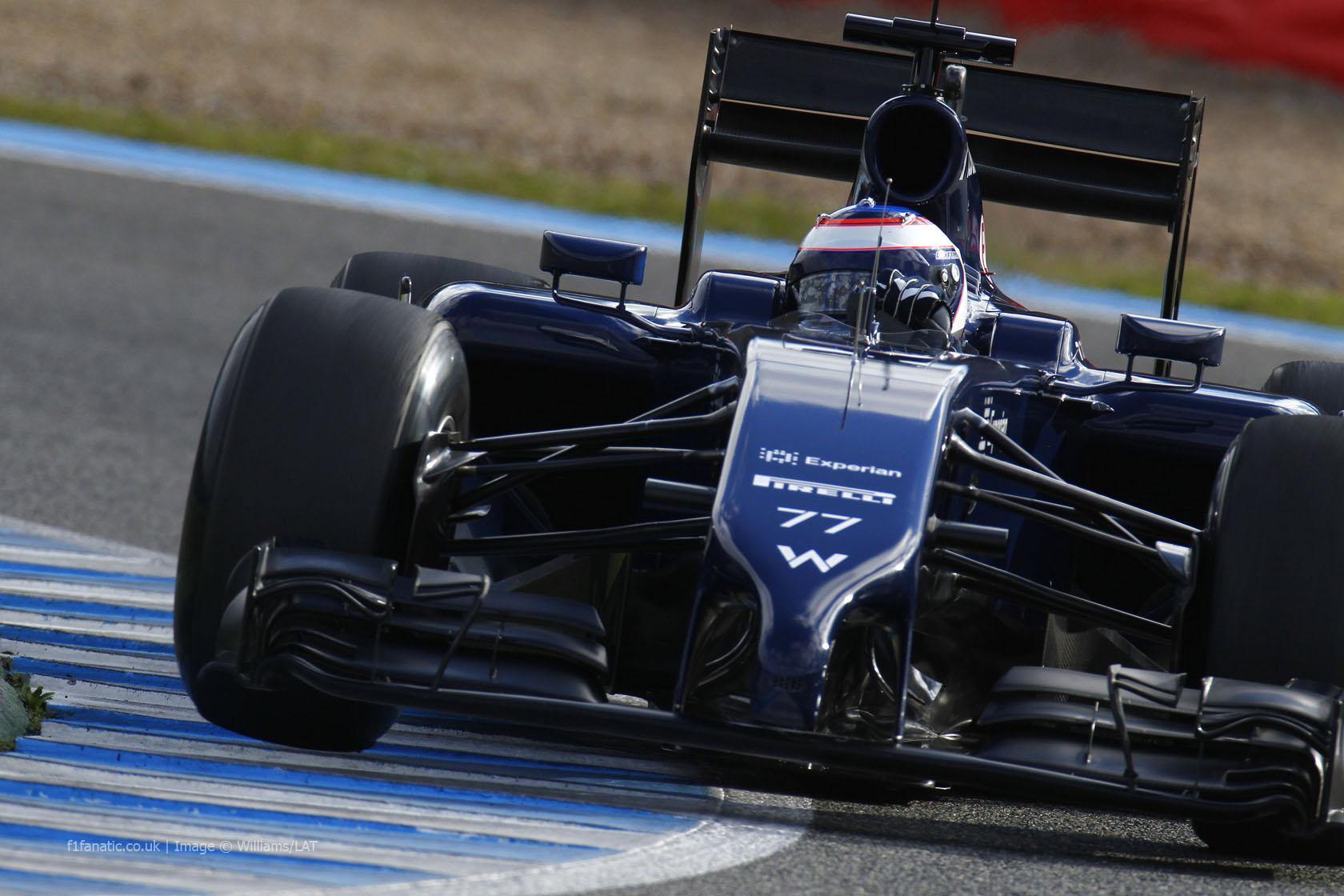 Williams F1 car - Season 2014, not so beautiful.