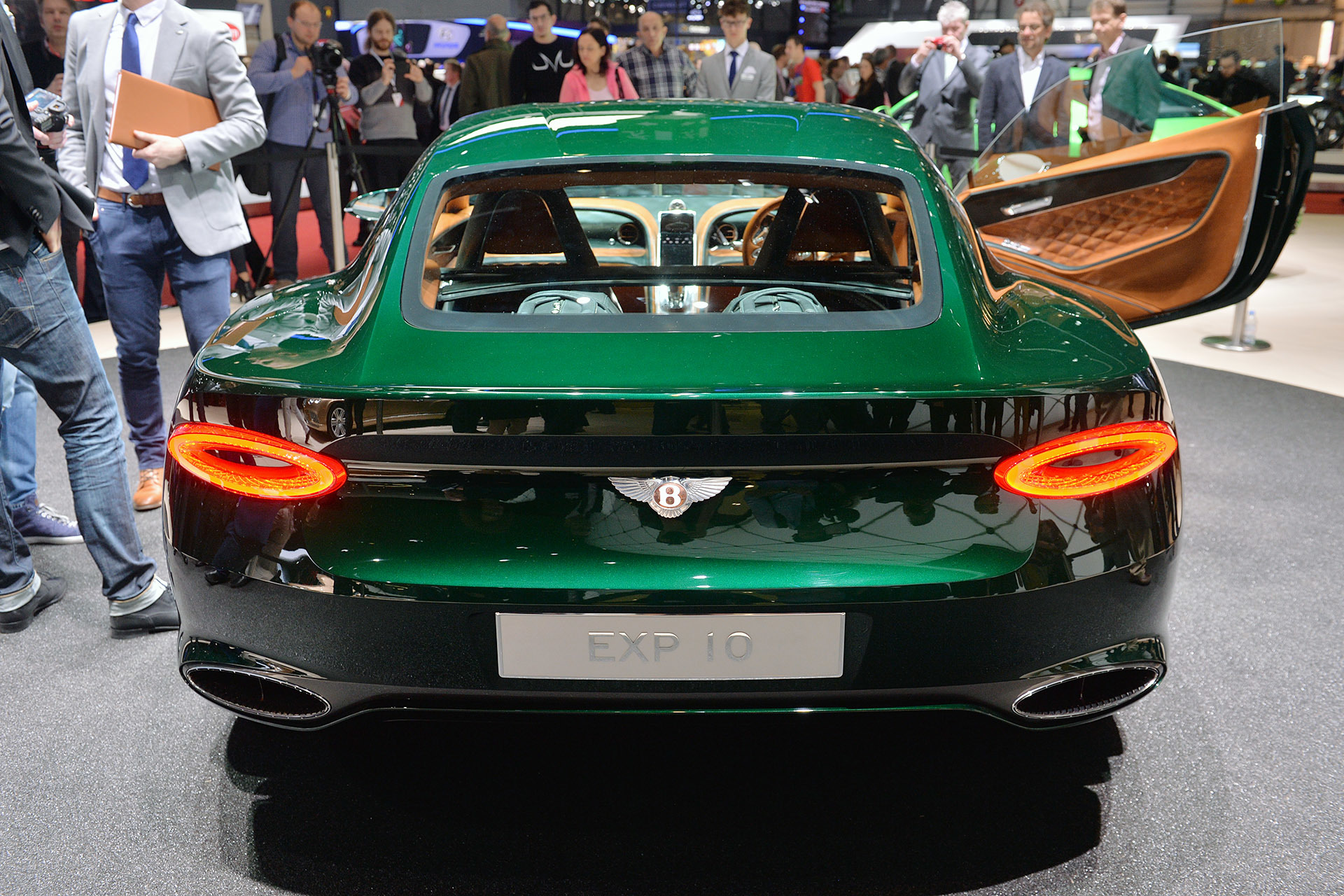 My Kia Performance >> Bentley Revealed EXP 10 Speed 6 Concept At The Geneva ...