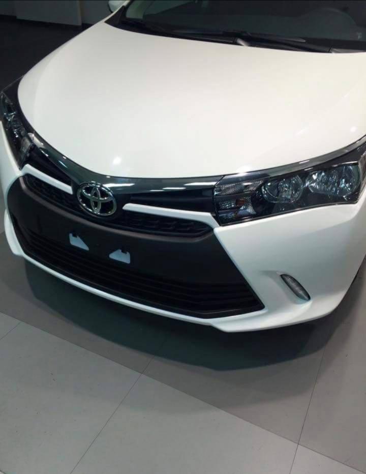 2015 Toyota Corolla Facelift  2