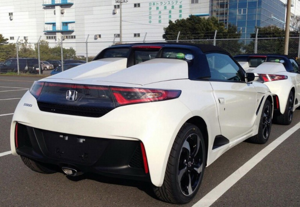 Honda S660 Pictures Leaked Out Pakwheels Blog